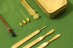 Old medical tools by John-coffee.deviantart.com on @deviantART