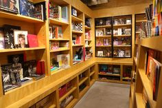 BOOKMARC Bookstore Design, Japanese Colors, Liquor Cabinet, Corner Desk, Harajuku, Bookcase, Shelves, Storage, Awesome Stuff