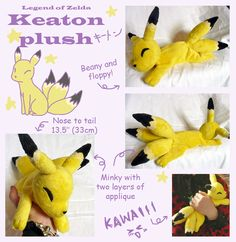 LoZ Keaton Plush beanie by SilkenCat