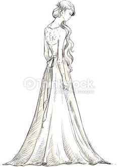 Beautiful girl with long hair bride vector - by kamenuka on VectorStock® Girls With Flowers, Girls In Love, Bride Hairstyles For Long Hair, Girl With Headphones, Vector Pop, Floral Pattern Vector, Beautiful Christmas Cards, Pretty Drawings, Valentines Day Background