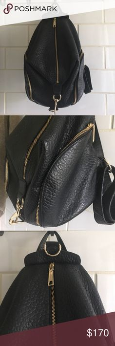 2688ea0d7464 Shop Women s Rebecca Minkoff Black Gold size OS Backpacks at a discounted  price at Poshmark. Denise Edwards · Handbag Haven