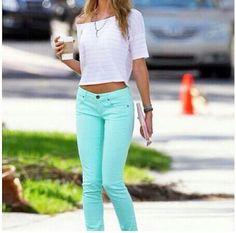 #mint #pants