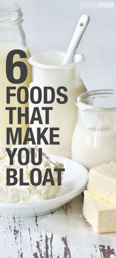 Check out this list of the 6 foods that have been known to make you feel bloated.