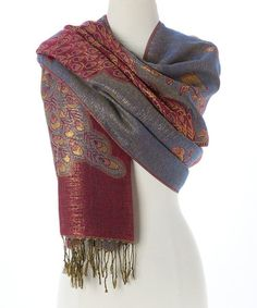 Another great find on #zulily! Pink Peacock Scarf #zulilyfinds