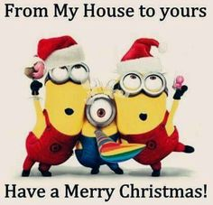 Merry Minion  Christmas