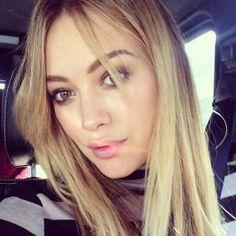 Hilary Duff's new bangs!