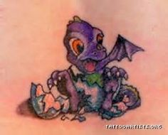 Image titled 'Baby Dragon' posted by Addiction Ink to gallery page 'Jenifer's page' on Baby Dragon Tattoos, Small Dragon Tattoos, Dinosaur Tattoos, Baby Tattoos, Girl Tattoos, Tattoo Girls, Tatoos, I Tattoo, Tattoo Quotes