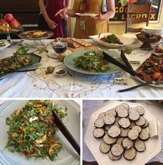 """""""Alice Medrich hosted a beautiful lunch a few weeks ago in honor of Amelia Saltsman's new book, The Seasonal Jewish Kitchen. I was thrilled to be included. The food, all recipes from Amelia's new book was scrumptious. Check out my blog post for more on The Seasonal Jewish Kitchen."""""""