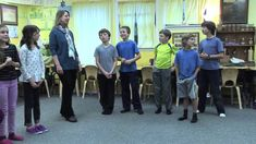 These simple songs can help children learn the seven's and eight's times tables. This video features Shining Mountain Waldorf school's third grade class with...