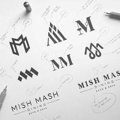 healthy meals on a budget book 2017 18 Logo Desing, Best Logo Design, Lettering Design, Branding Design, Design Brochure, Graphic Design, Logo Branding, Mm Logo, Logo 3d