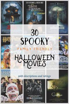 30 Family Friendly Halloween Movies