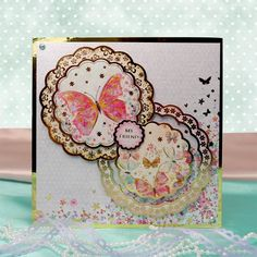 Fluttering Pearl Page 1 | Hunkydory Crafts