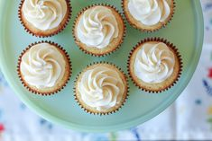 Simple and Delicious Vanilla Cupcakes - This Celebrated Life Vanilla Yogurt, Vanilla Flavoring, Vanilla Cake, Vanilla Frosting For Cupcakes, Cupcake Frosting, Easy Cupcake Recipes, Dessert Recipes, Classic Desserts, Chocolate Recipes