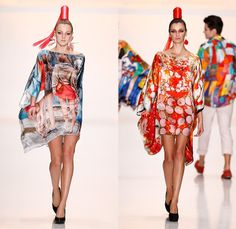 ROB-ART 2014 Spring Summer Womens Runway Collection - Mercedes-Benz Fashion Week Russia Moscow - ROB-ART by Katya Rozhdestvenskaya - Artwork...