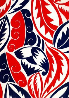 Textile design By Raoul Dufy for Bianchini Ferier