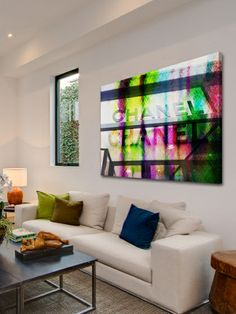 Down Town by Marmont Hill at Gilt www.marmonthill.com. Abstract artwork on canvas.
