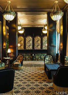 Vogue Living - Manhattan's opulent, Paris-inspired hotel NoMad, which occupies a 1903 Beaux Arts building, has a high-bohemian, nostalgic luxury rarely found in New York