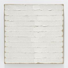 Robert Ryman - Untitled, 1965  #RobertRyman #Art #Painting