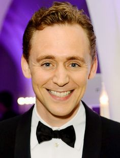 Tom Hiddleston in a bowtie. Everything else at this point is just an accessory to his perfection.