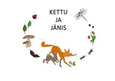 Kettu ja jänis | Papuri | Papunet Irene, Poster, Home Decor, Decoration Home, Room Decor, Interior Design, Home Interiors, Posters, Movie Posters