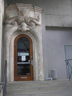 Big Mouth Door by thejoshuatree, via Flickr