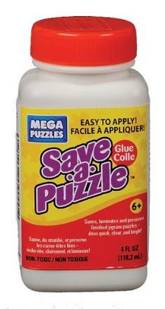 Mega Puzzles SaveAPuzzle Glue 4 oz ** Check out the image by visiting the link. (Note:Amazon affiliate link)