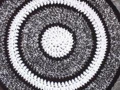 Alfombra circular en ganchillo - Hogar
