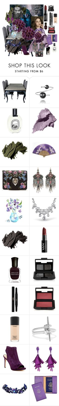 """""""Dark Hues II"""" by billiej-712 ❤ liked on Polyvore featuring beauty, Diptyque, Bobbi Brown Cosmetics, Alexander McQueen, Gucci, Bling Jewelry, NYX, Deborah Lippmann, NARS Cosmetics and Yves Saint Laurent"""