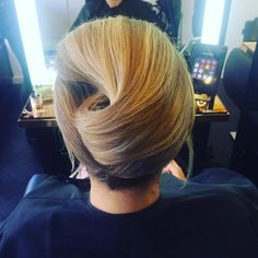 Chic french twist via Show Beauty