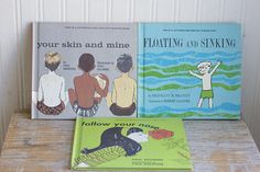Vintage Childrens Books Follow Your Nose Floating and