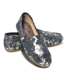Another great find on #zulily! Gray & Silver Brushed Metallic Classics by TOMS #zulilyfinds