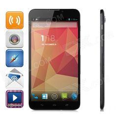 "6.98"" IPS Quad-Core Android 4.2 3G WCDMA Phone Tablet PC w/ 1GB RAM / 8GB ROM / GPS / Wi-Fi - Black Price: $183.18"