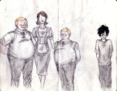 Harry Potter illustrative notebook – Sorcerer's Stone by Jenny Gacy