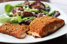 This salmon recipe has become one of my favorites. It's easy to prepare and delicious! The coating on the salmon…
