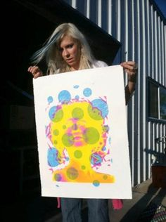 """""""Cousin of legendary pop superstar Andy Warhol, Monica is her own pop phenomenon. Andy Warhol, Art Fair, Art History, Bbc, Superstar, Ideas, Thoughts"""
