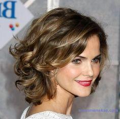 Dalgalı Kısa Saç Modelleri 2016 Bayan