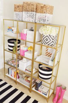 fun storage | home goods via McKenna Bleu