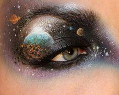 Solar system - Psychosandra http://psychosandra.blogg.se/category/makeup.html ---  http://rodeo.net/sandraholmbom/