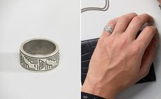 70 Cool Rings For Men That Are Incredibly Unique Discover an impressive selection of cool rings for men that are unique & creative, We have compiled the ultimate list of cool rings for guys! Check it Out! Cool Rings For Men, Unique Rings, Men Rings, Silver Rings, Cool Stuff, Creative, Guys, Check, Cool Mens Rings