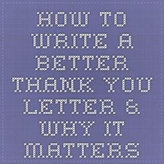 Thank You Letters Donors Will Love  Fundraising And Nonprofit