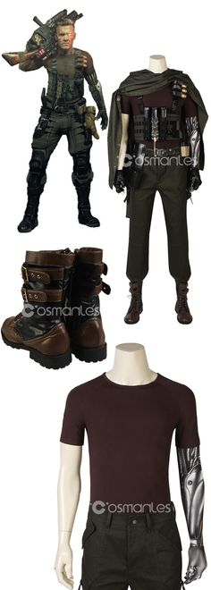 Marvel Deadpool 2 Nathan Christopher Charles Summers Cable Cosplay Costume with Boots Cable Marvel, Marvel Dc, Cosplay Costumes, Halloween Cosplay, Cosplay Ideas, Dragon Mask, Maximum Effort, Custom Action Figures, Xmen
