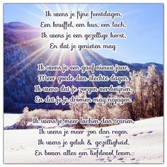 Kerst groet gedicht verhaal wens.