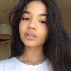 Maia Keilani Kahale// Parents: Kaleo and Malina Kahale// Alias: Pele// Beauty Makeup, Hair Makeup, Hair Beauty, Pretty People, Beautiful People, Witch Hazel For Skin, Bare Face, Fresh Face, Natural Looks