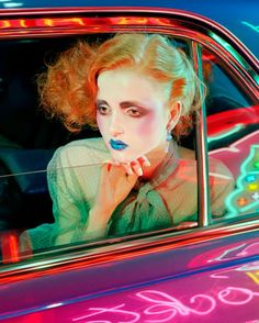 Top model Madison Stubbington teams up with fashion photographer Miles Aldridge for beauty story coming from the pages of Vogue Italia's September 2015 issue. Editorial Photography, Art Photography, Fashion Photography, Classic Photography, Creative Photography, Beauty Editorial, Editorial Fashion, Madison Stubbington, Tim Walker