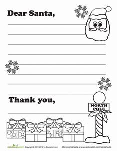 Worksheets Christmas Writing Worksheets christmas writing prompts and worksheets on third grade handwriting write santa a letter