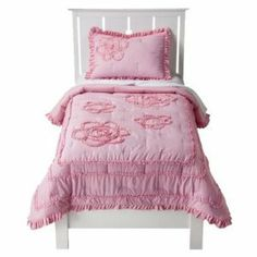 Circo® Ruffle Quilt Set - Pink (Full):Amazon:Home & Kitchen