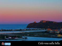 Cielo rosa sulla Sella. La foto del giorno di Marì Nicole Farris