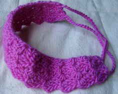 Crochet Head Band...Free Pattern for Christmas child boxes