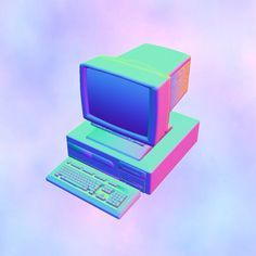Aesthetic Kingdom, Computers Tv, Vaporwave Technology, Lapetitegrosse Computer, 1 2Part Aesthetic