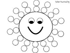 Palmer Practicality: Summer Do a Dot Printables Preschool Weather, Preschool Prep, Preschool Worksheets, Preschool Learning, Preschool Activities, Spring Activities, Toddler Activities, Do A Dot, Daycare Crafts